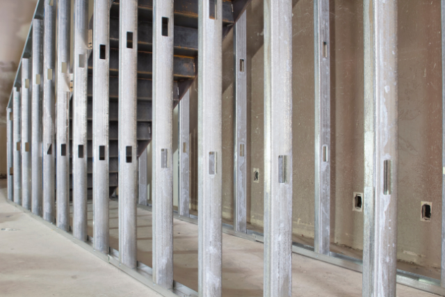 Commercial Drywall preparation