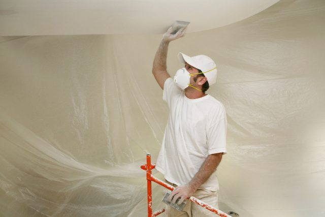 Drywall sanding project